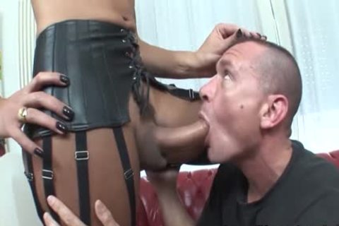 chap Sucks And Wanks A humongous penis lady-twink